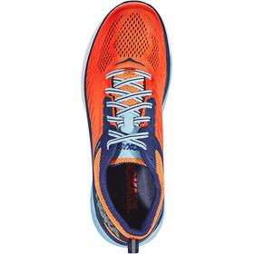 Hoka One One Arahi 3 Chaussures de trail Homme, nasturtium/patriot blue